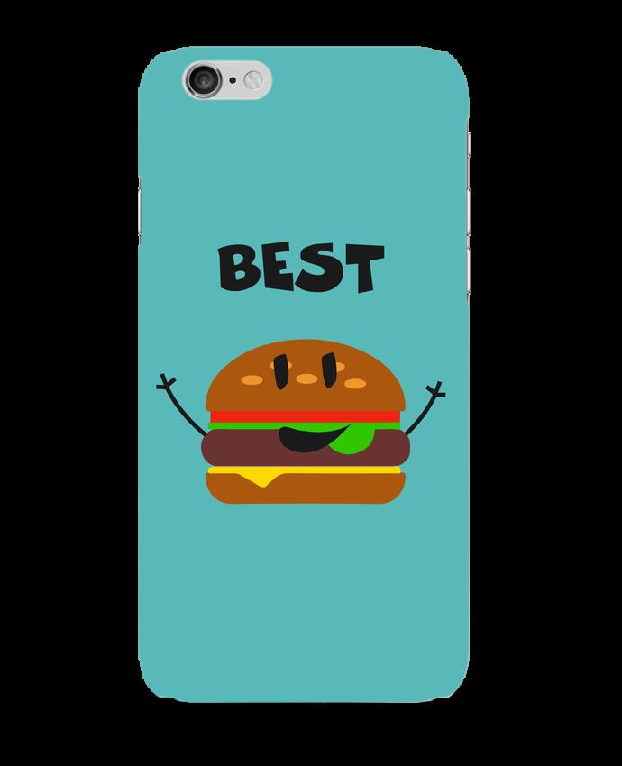 Coque 3D Iphone 6 BEST FRIENDS BURGER 1 par tunetoo