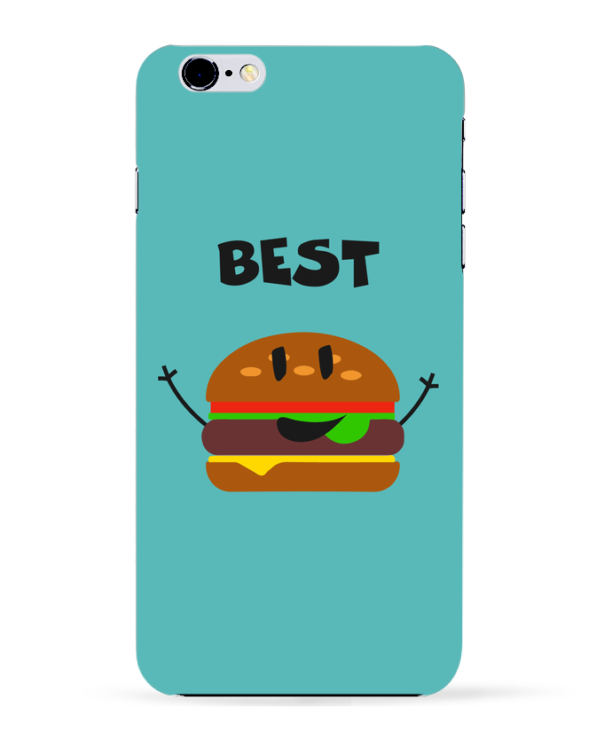 Coque 3D Iphone 6+ BEST FRIENDS BURGER 1 de tunetoo