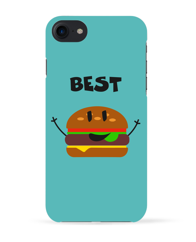 Coque 3D Iphone 7 BEST FRIENDS BURGER 1 de tunetoo