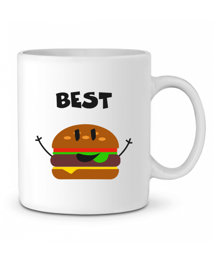 Mug en Céramique BEST FRIENDS BURGER 1 par tunetoo