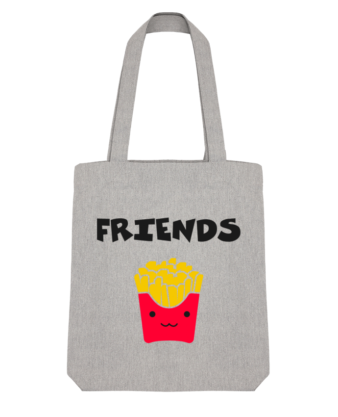 Tote Bag Stanley Stella BEST FRIENDS FRIES par tunetoo