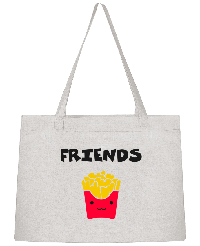Sac Cabas Shopping Stanley Stella BEST FRIENDS FRIES par tunetoo