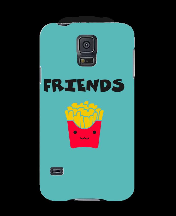 Coque 3D Samsung Galaxy S5 BEST FRIENDS FRIES par tunetoo