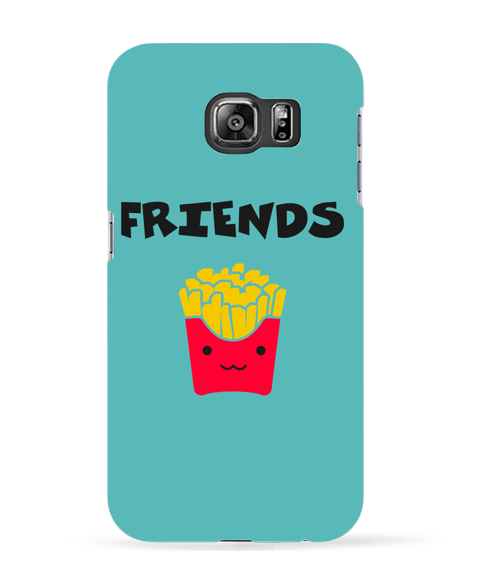 Coque 3D Samsung Galaxy S6 BEST FRIENDS FRIES - tunetoo