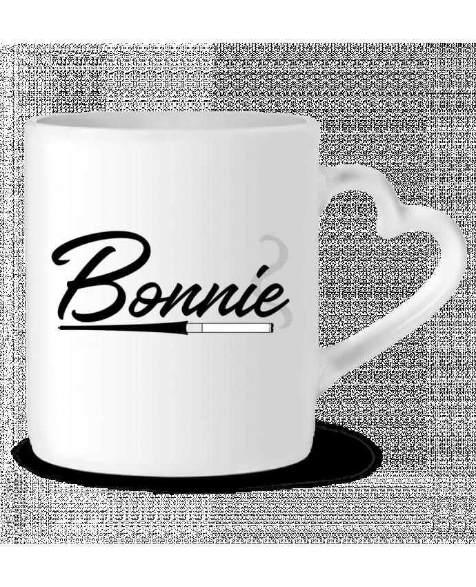 Mug Coeur Bonnie par tunetoo