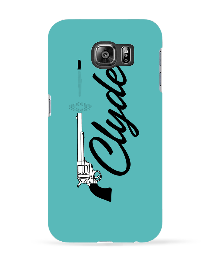 Coque 3D Samsung Galaxy S6 Clyde - tunetoo