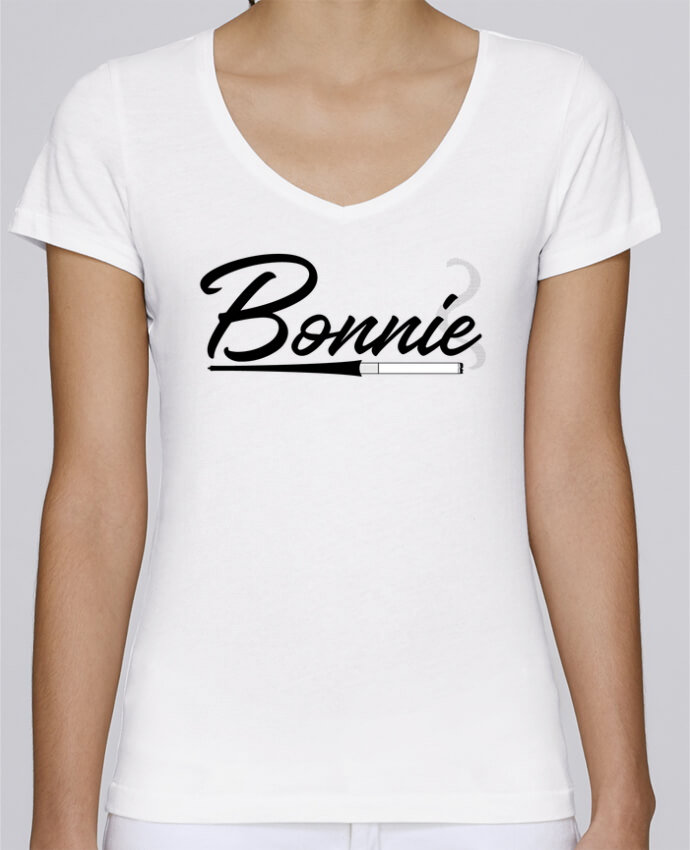 T-shirt Femme Col V Stella Chooses Bonnie par tunetoo