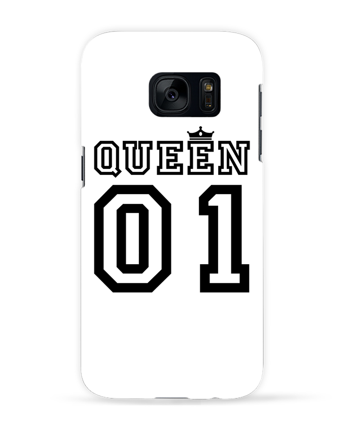 Coque 3D Samsung Galaxy S7 Queen 01 par tunetoo