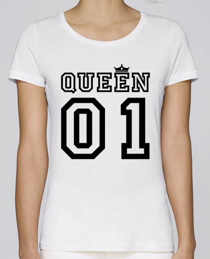 T-shirt Femme Stella Loves Queen 01 par tunetoo