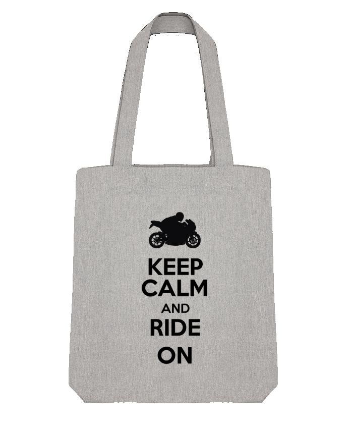 Tote Bag Stanley Stella Keep calm Moto par Original t-shirt