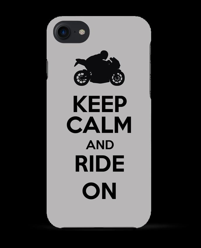 COQUE 3D Iphone 7 Keep calm Moto de Original t-shirt