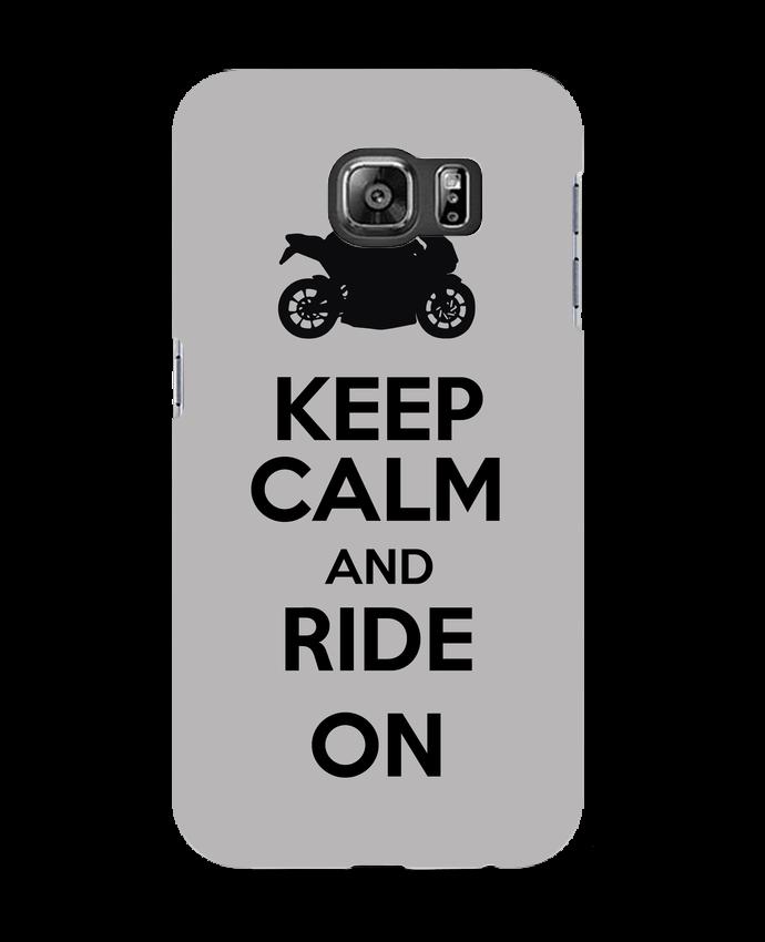 Coque 3D Samsung Galaxy S6 Keep calm Moto - Original t-shirt