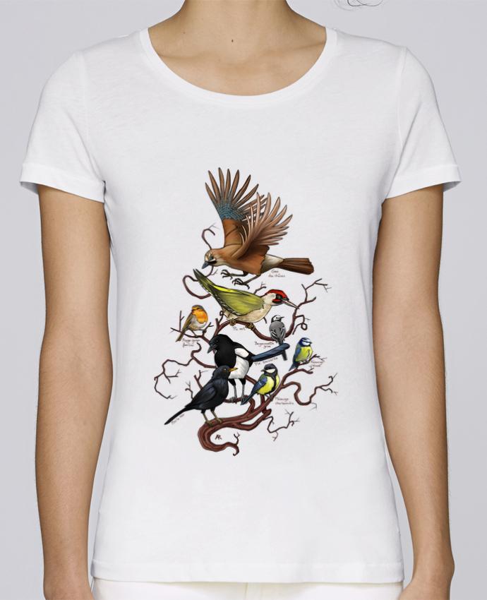 Shirt Stella T Femme Ariera Loves Oiseaux 80wPXnOk