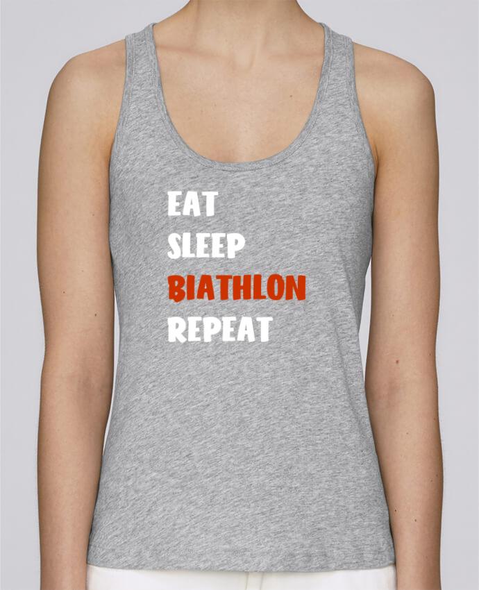 a440b97d0461d Débardeur bio femme Stella Dreams Biathlon Lifestyle par Original t-shirt  en coton Bio