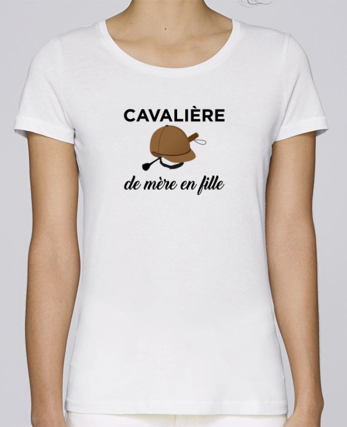 T-shirt Femme Stella Loves Cavalière de mère en fille par tunetoo