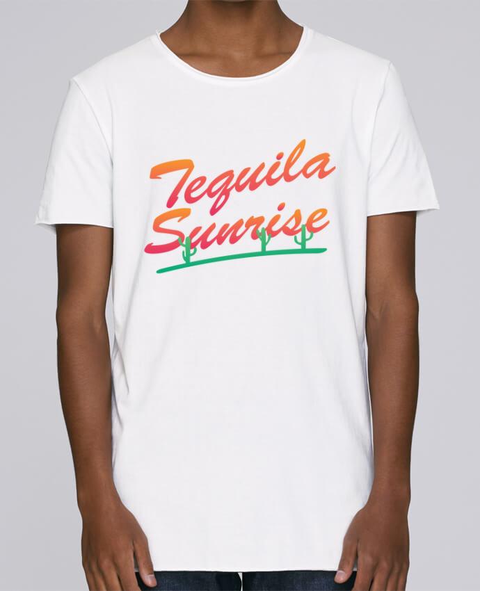 T-shirt Homme Oversized Stanley Skates Tequila Sunrise par tunetoo