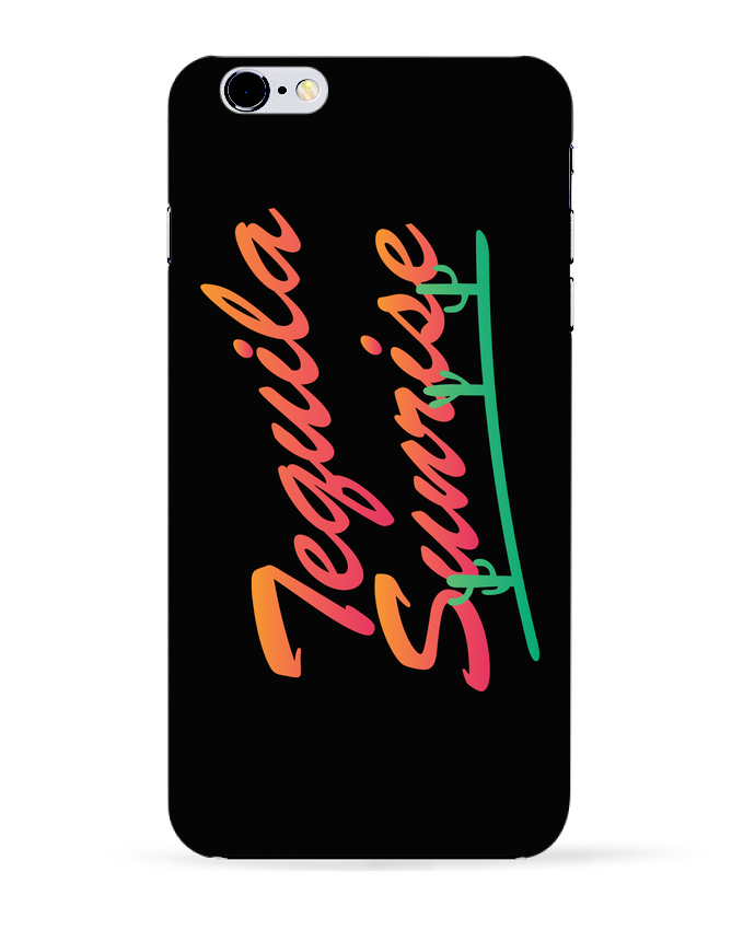 Coque 3D Iphone 6+ Tequila Sunrise de tunetoo