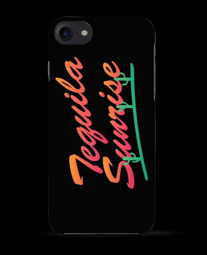 Coque 3D Iphone 7 Tequila Sunrise de tunetoo