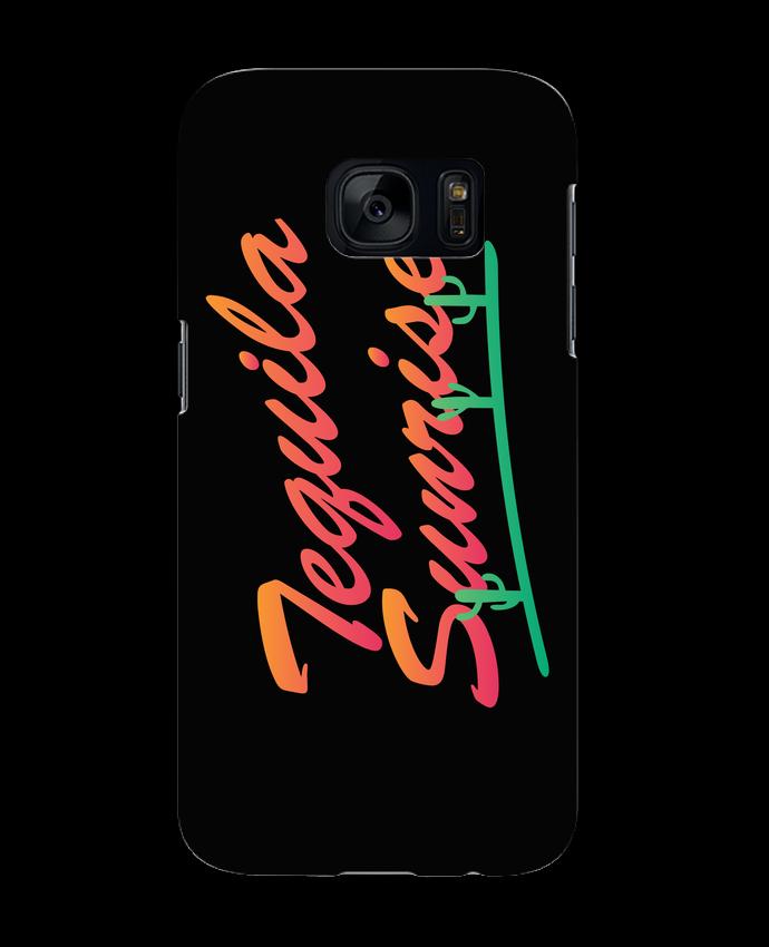 Coque 3D Samsung Galaxy S7 Tequila Sunrise par tunetoo