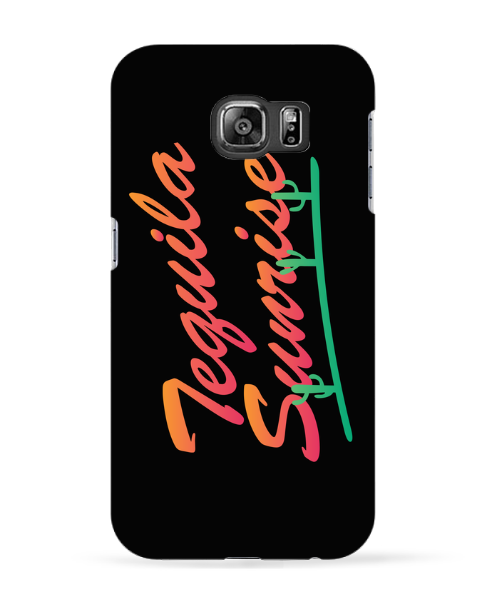Coque 3D Samsung Galaxy S6 Tequila Sunrise - tunetoo
