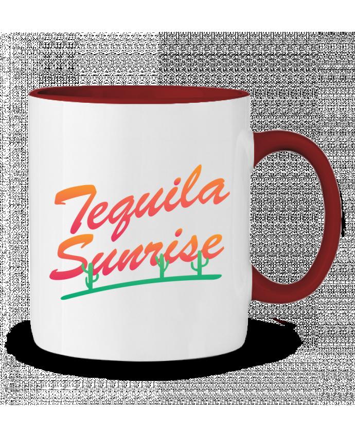 Mug en Céramique Bicolore Tequila Sunrise tunetoo