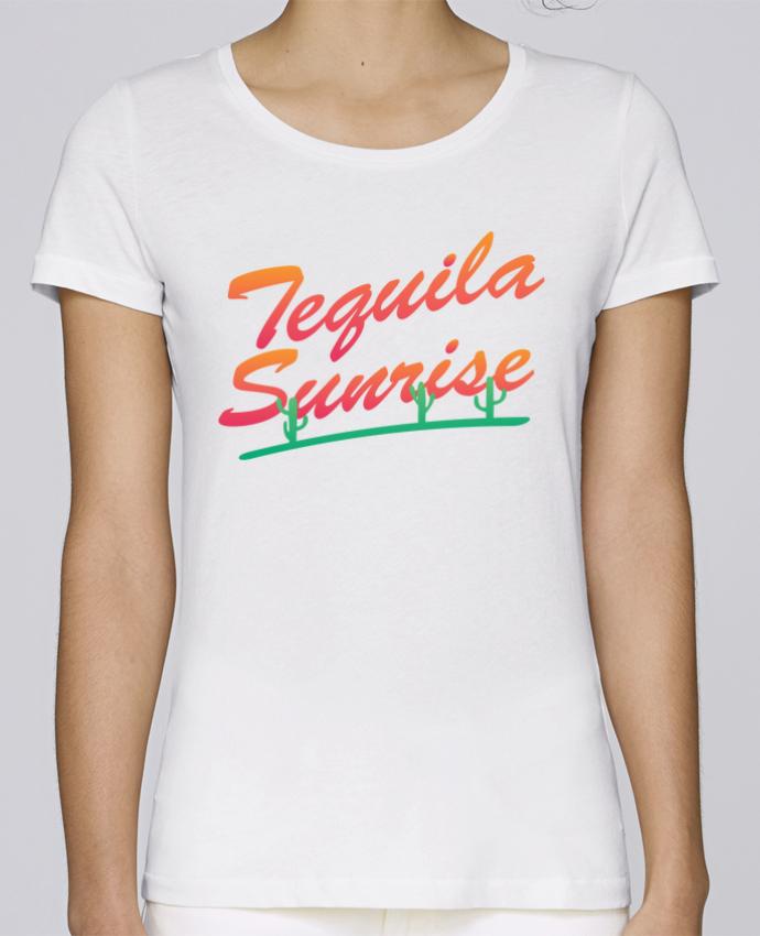 T-shirt Femme Stella Loves Tequila Sunrise par tunetoo