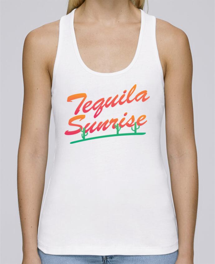 Débardeur bio femme Stella Dreams Tequila Sunrise par tunetoo en coton Bio