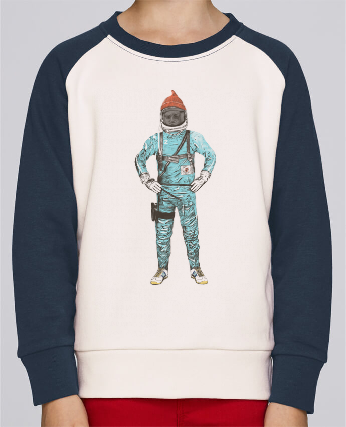 Sweat petite fille Zissou in space par Florent Bodart