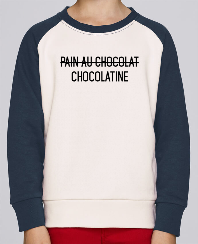 Sweat petite fille Chocolatine par tunetoo