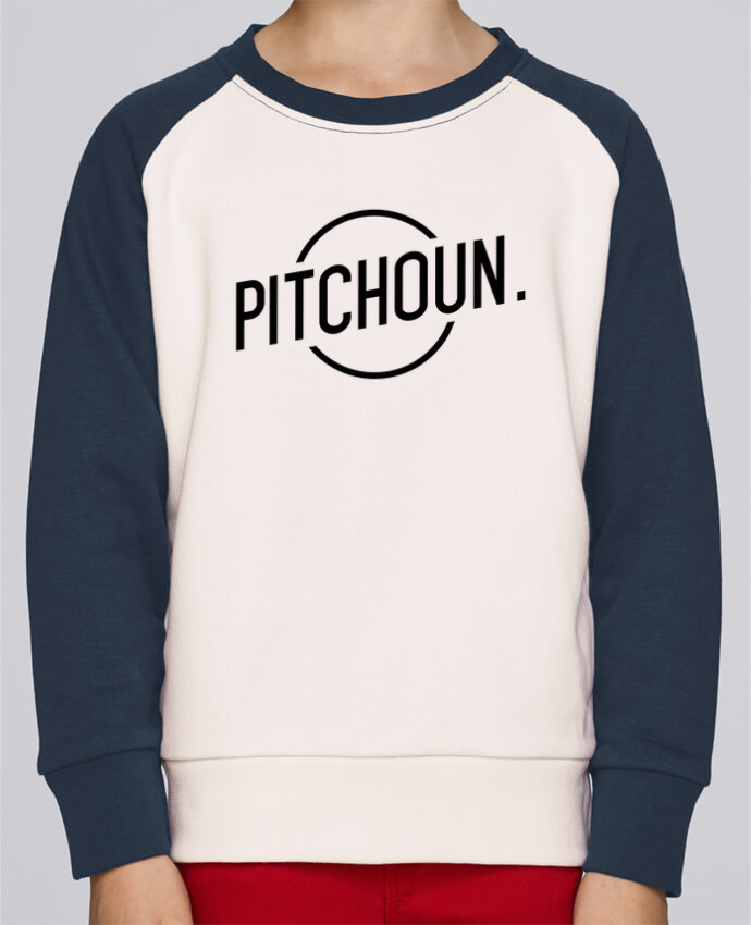 Sweat petite fille Pitchoun par tunetoo