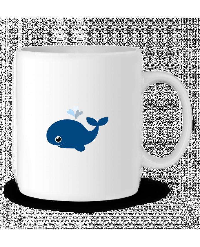 Mug en Céramique Baleine coeur par WBang