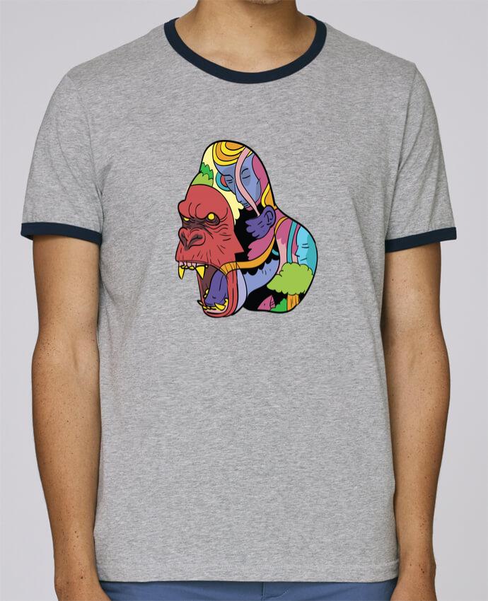 T-Shirt Ringer Contrasté Homme Stanley Holds wrathofnature pour femme par Arya Mularama