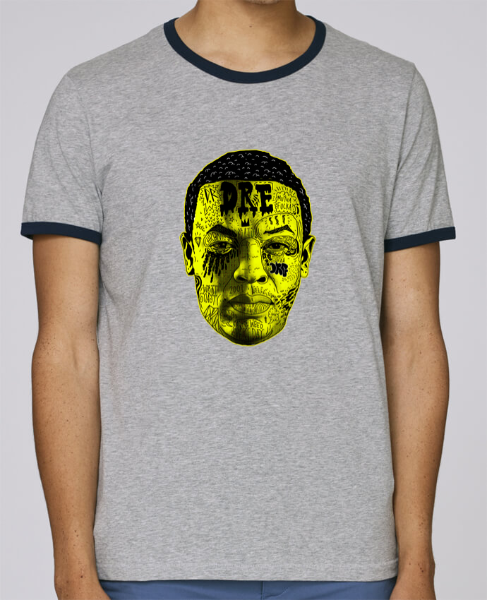T-Shirt Ringer Contrasté Homme Stanley Holds Dr. Dre pour femme par Nick cocozza
