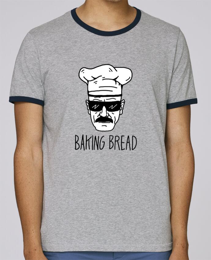 T-Shirt Ringer Contrasté Homme Stanley Holds Baking bread pour femme par Nick cocozza
