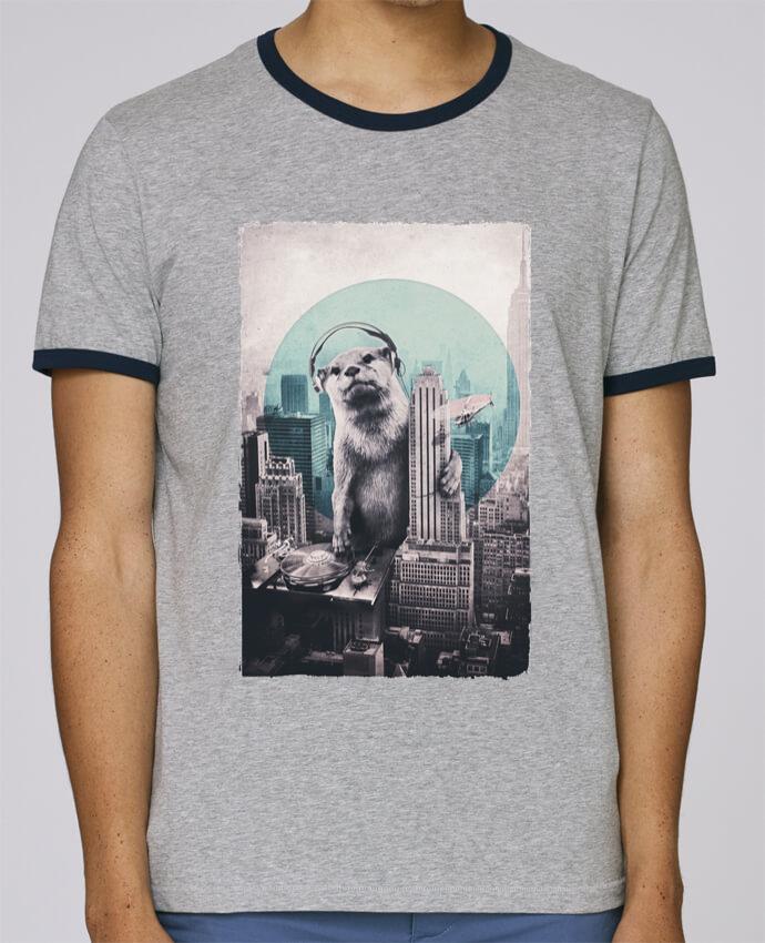 T-Shirt Ringer Contrasté Homme Stanley Holds Dj pour femme par ali_gulec