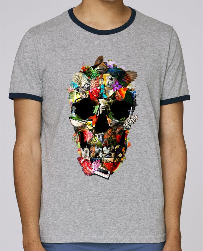 T-Shirt Ringer Contrasté Homme Stanley Holds Fragile pour femme par ali_gulec