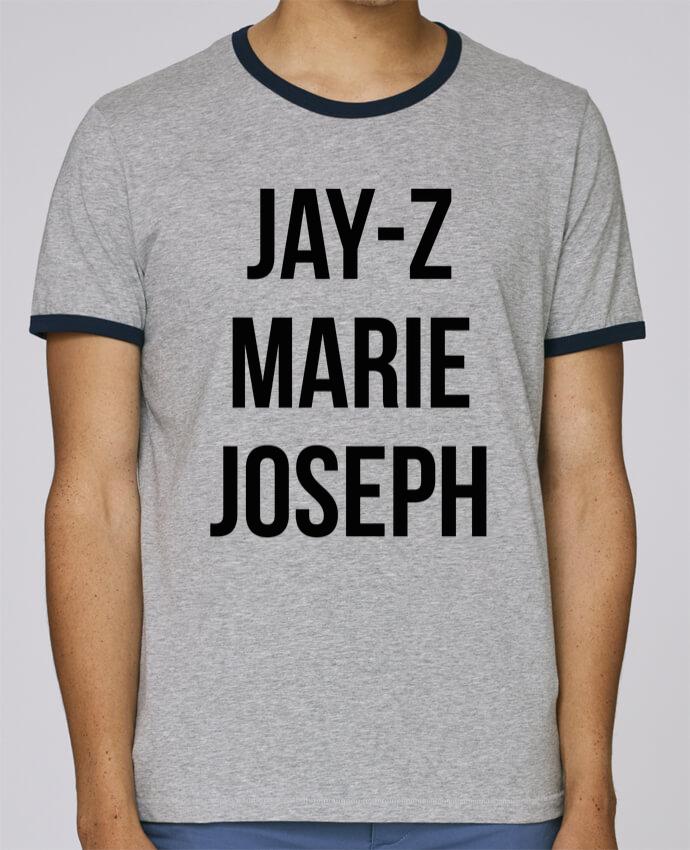 T-Shirt Ringer Contrasté Homme Stanley Holds JAY-Z MARIE JOSEPH pour femme par tunetoo