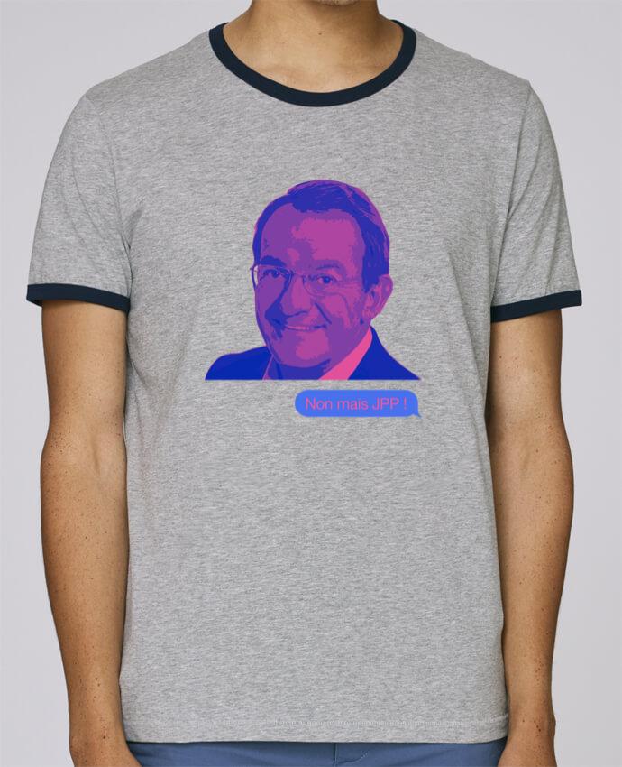 T-Shirt Ringer Contrasté Homme Stanley Holds Non mais JPP pour femme par WBang