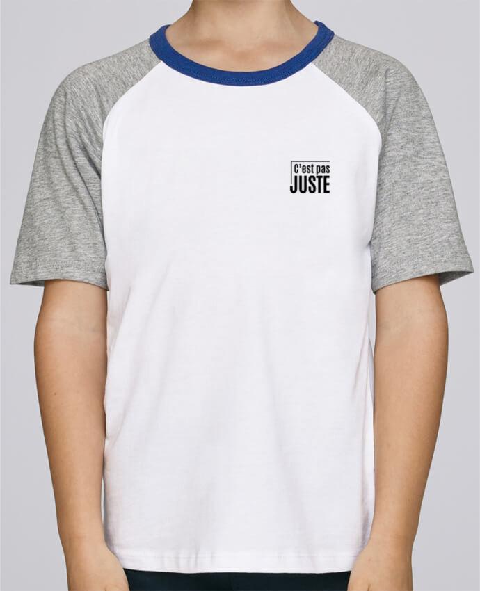 Tee-Shirt Enfant Stanley Mini Jump Short Sleeve C'est pas juste par tunetoo