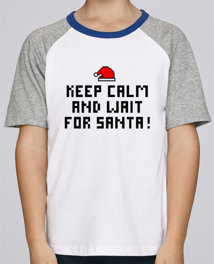 Tee-Shirt Enfant Stanley Mini Jump Short Sleeve Keep calm and wait for Santa ! par tunetoo