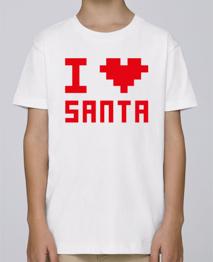 Tee Shirt Garçon Stanley Mini Paint I LOVE SANTA par tunetoo