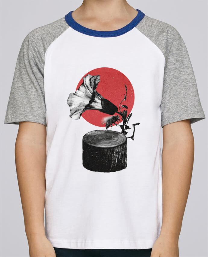 Tee-Shirt Enfant Stanley Mini Jump Short Sleeve Gramophone par ali_gulec