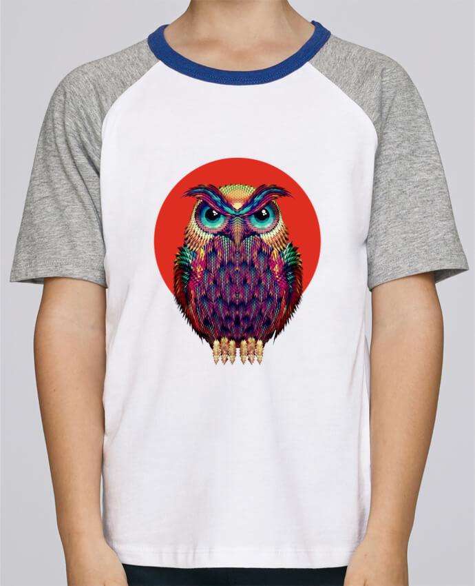 Tee-Shirt Enfant Stanley Mini Jump Short Sleeve Owl par ali_gulec