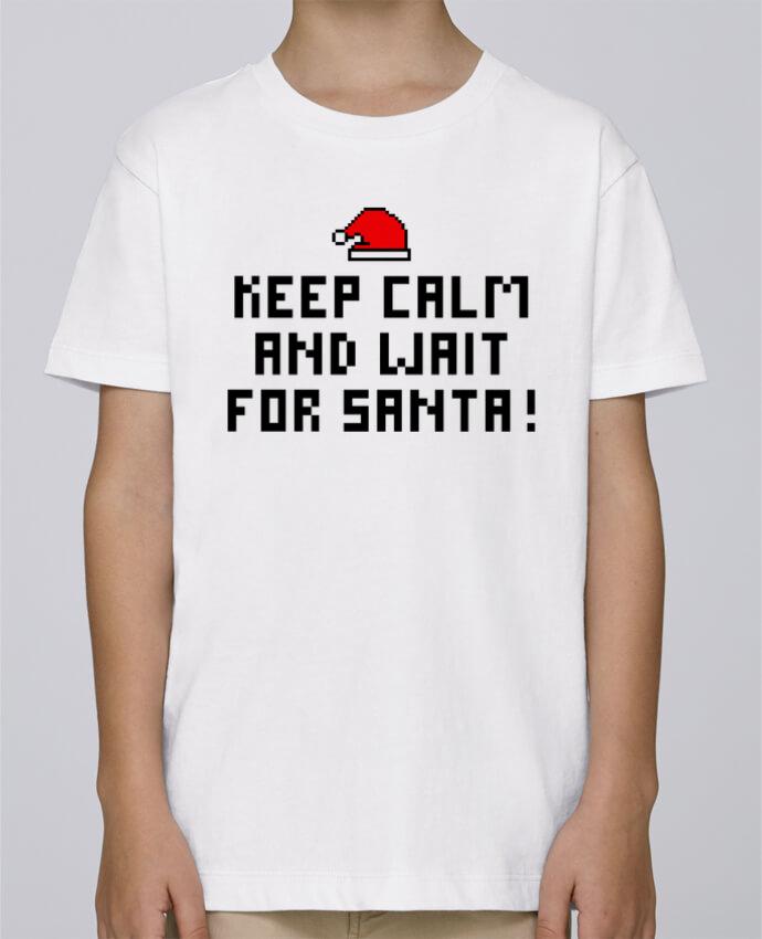 Tee Shirt Garçon Stanley Mini Paint Keep calm and wait for Santa ! par tunetoo