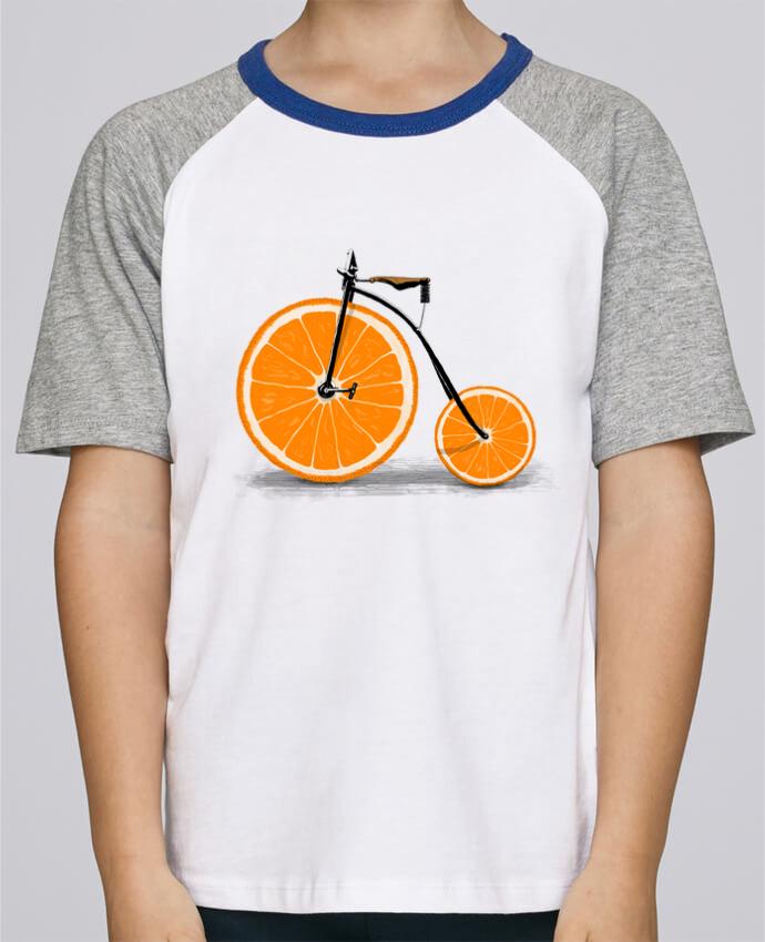 Tee-Shirt Enfant Stanley Mini Jump Short Sleeve Vitamin par Florent Bodart