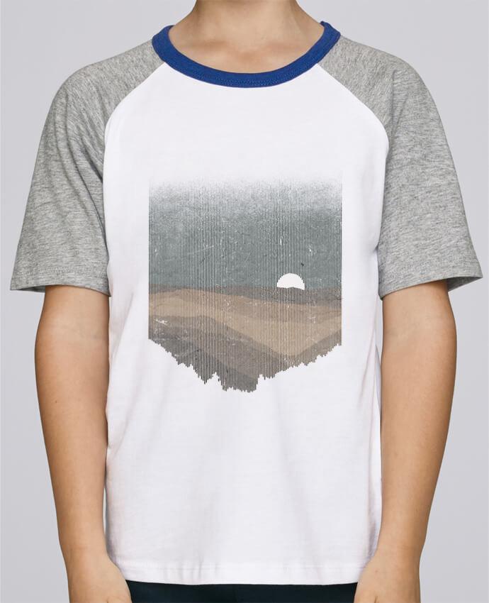 Tee-Shirt Enfant Stanley Mini Jump Short Sleeve Moonrise Sepia par Florent Bodart