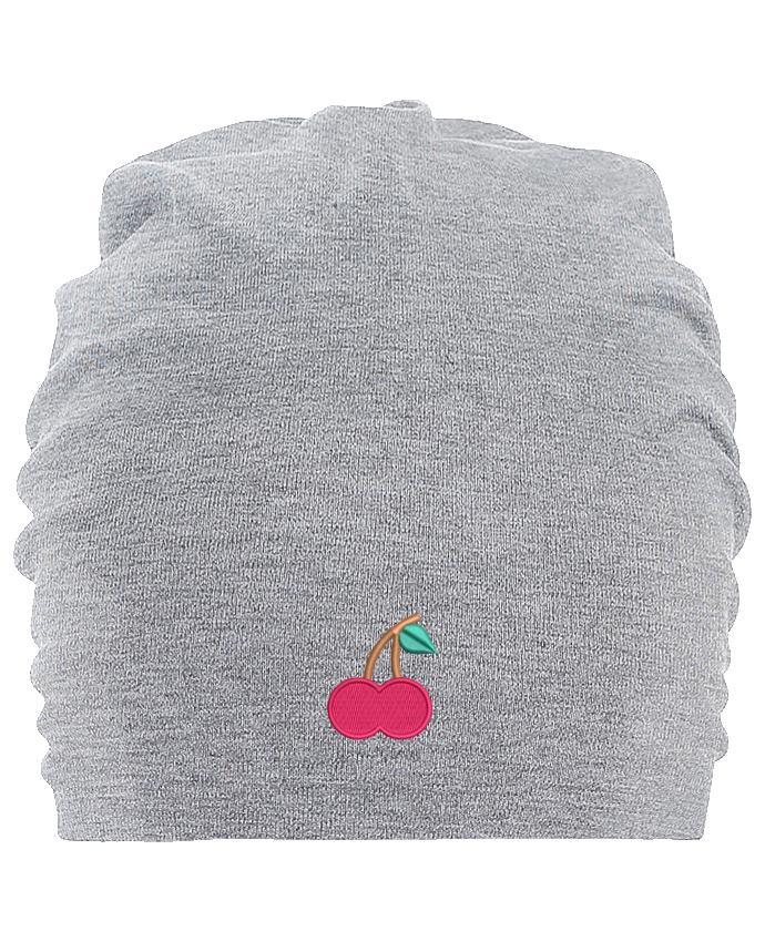Bonnet oversize en coton Hemsedal Cerise par tunetoo