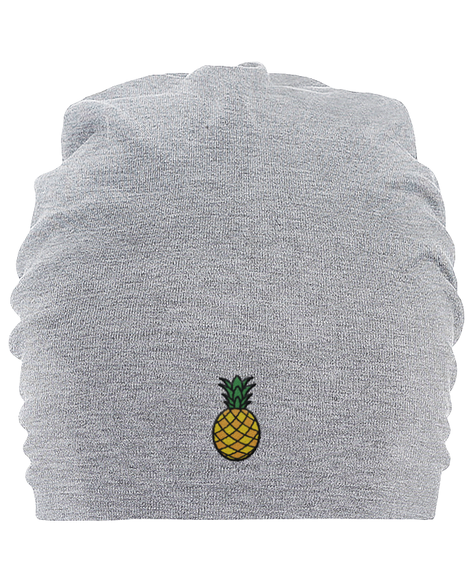 Bonnet oversize en coton Hemsedal Ananas orange par tunetoo