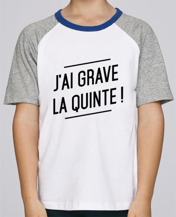 Tee-Shirt Enfant Stanley Mini Jump Short Sleeve La quinte ! par tunetoo