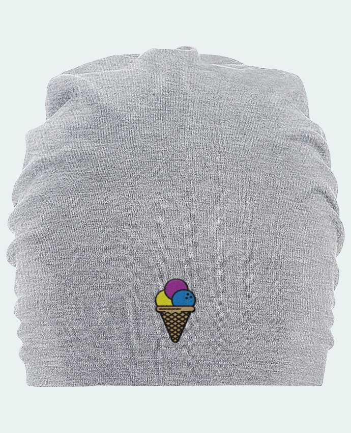 Bonnet oversize en coton Hemsedal Ice cream par tunetoo